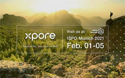 More Wins for Xpore! ISPO TEXTRENDS 2021 BEST PRODUCT and Other Awards