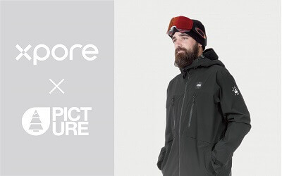Xpore partners with French Picture Organic Clothing to launch the most sustainable technical ski wear available