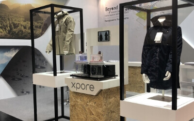 Xpore, BenQ Materials' Flagship Eco-textile Technology Brand, Unveiled at ISPO Munich 2020