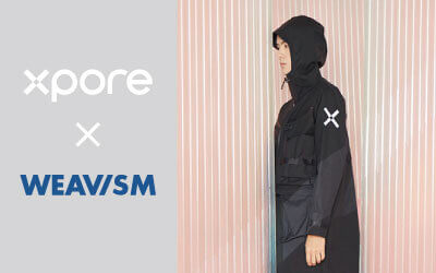 Xpore and WEAVISM Partner to Launch Waterproof-breathable Jackets for the 2021 Fall/Winter Season